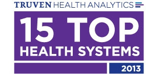 Top 15 health systems logo